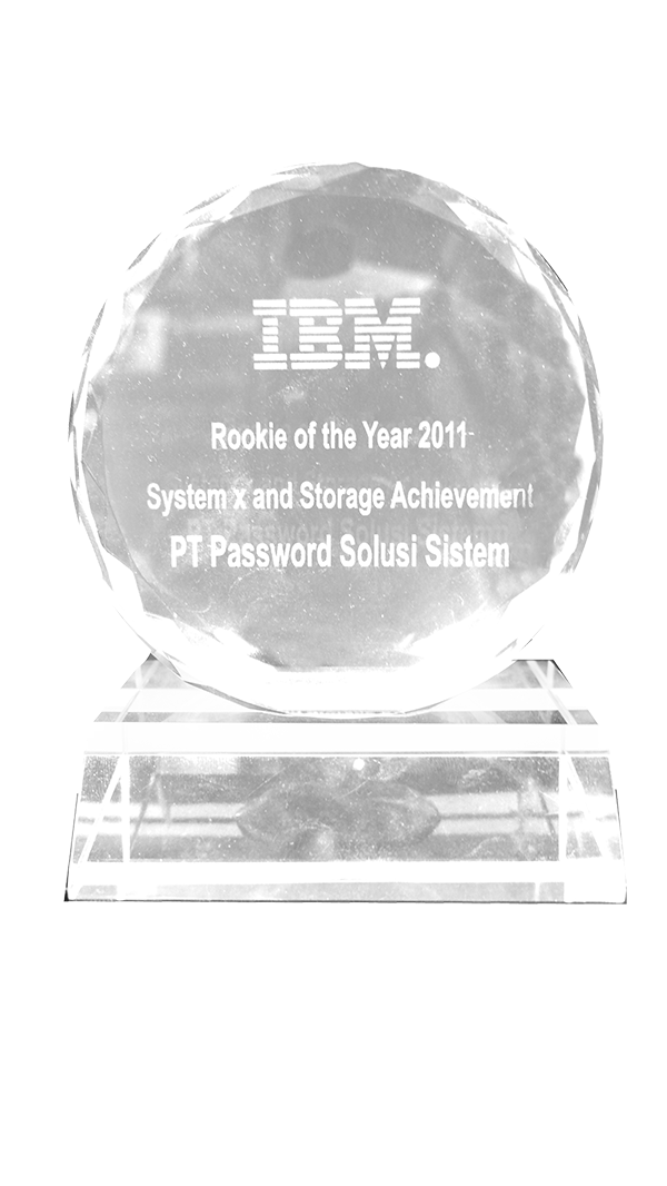 IBM Rookie Of The Year 2011 System x & Storage Achievement