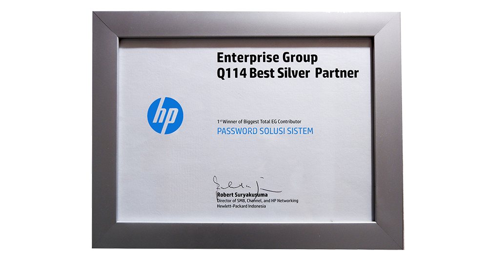 HP Best Silver Partner