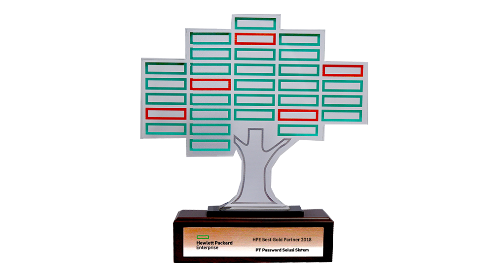 HPE Best Gold Partner Award 2018