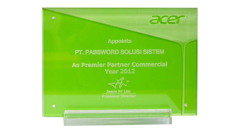 ACER Premier Partner Commercial Award 2012