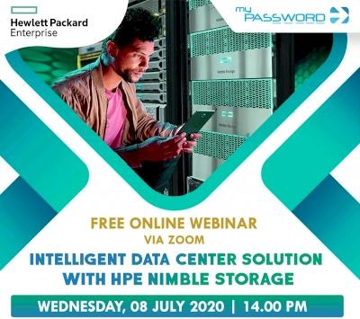 Password Webinar Intelligent Data Center Solution With HPE Nimble Storage