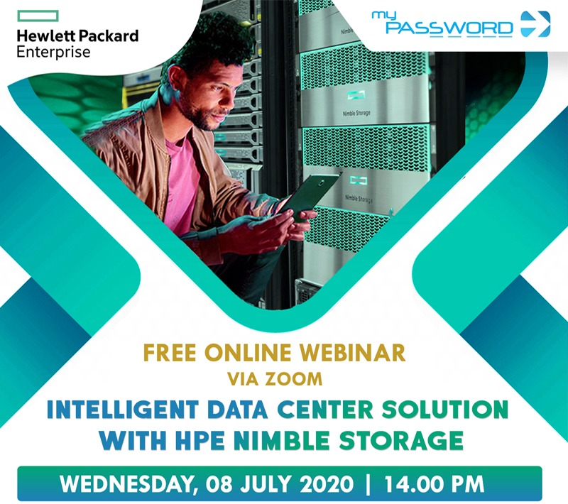 Password Webinar Intelligent Data Center Solution With HPE Nimble Storage