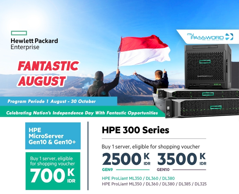 Fantastic August HPE Special Offer